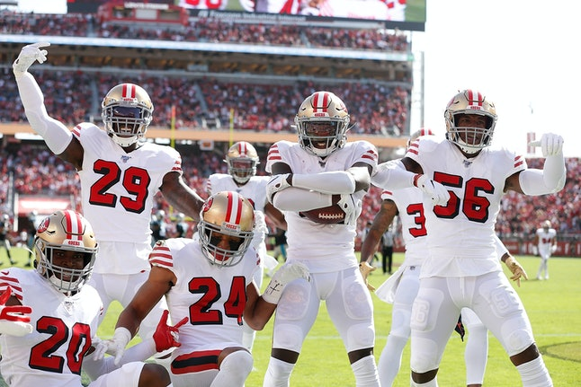 "The San Francisco 49ers defense calls themselves the ""Hot Boyzz."""
