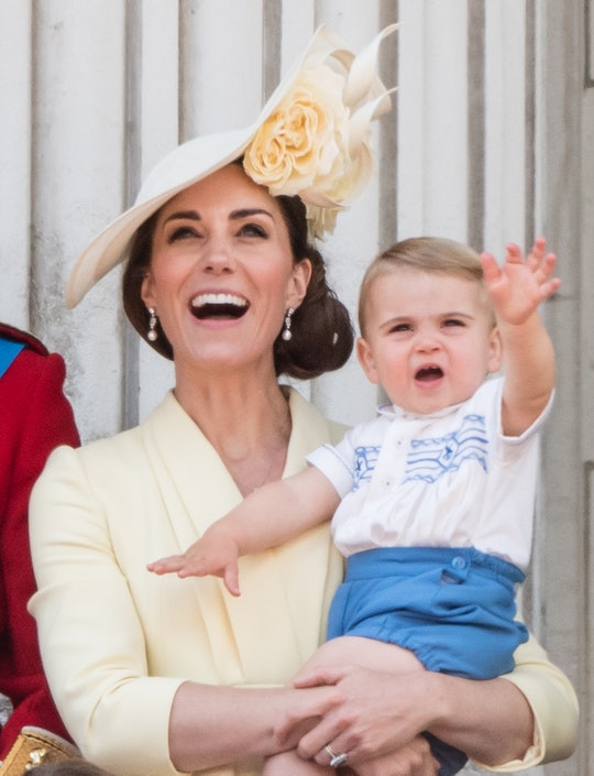 Kate Middleton shared a precious little detail about her son Prince Louis