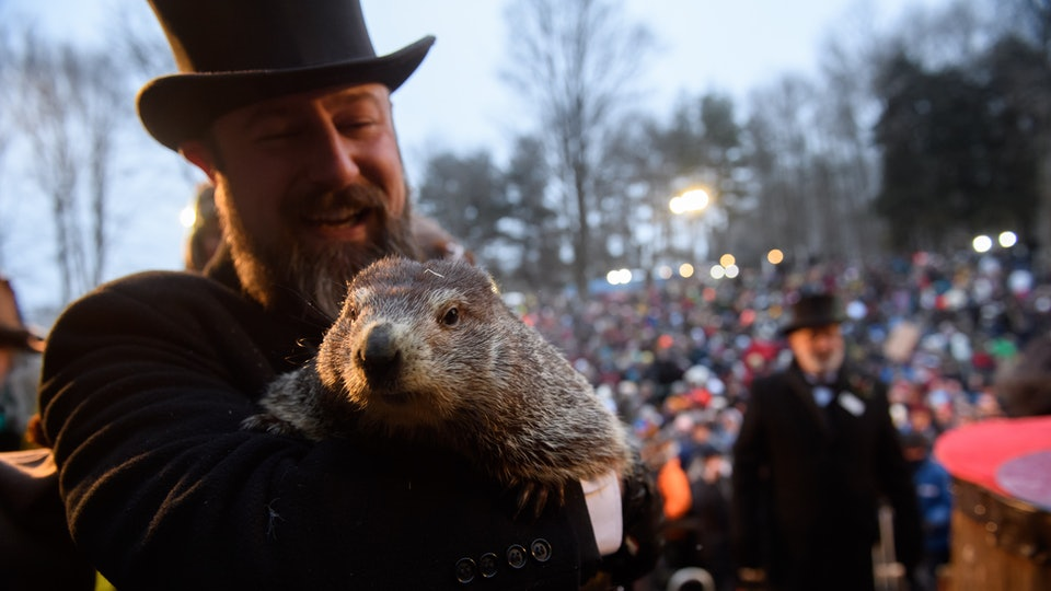 Groundhog Day 2020 is Sunday, February 2.