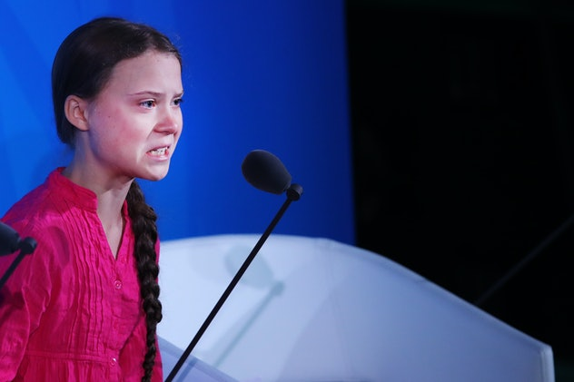 Greta Thunberg got seriously emotional when speaking to world leaders about climate change in Septem...