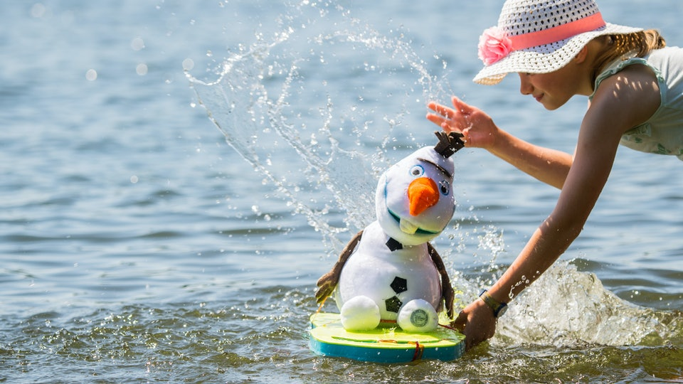 Your child's love of Olaf is even sweeter than you imagined.