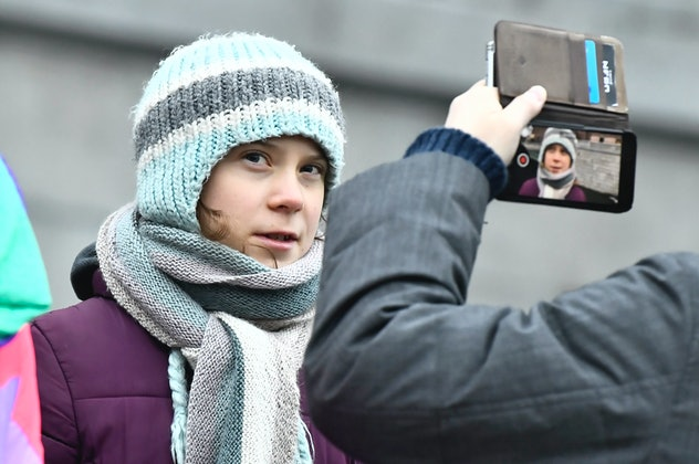 Greta Thunberg did extensive research into climate change.