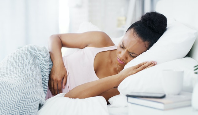 If you're having cramps when you otherwise wouldn't, it could be a sign that you're pregnant.