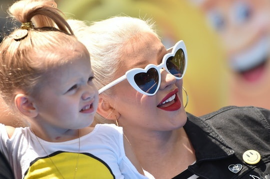 Christina Aguilera's 5-year-old daughter, Summer, met Mulan just 21 years after the singer recorded the theme song for the 1998 Disney animated film.