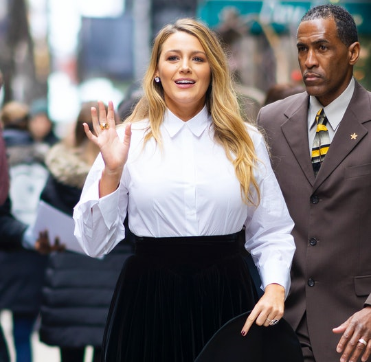 """Blake Lively shared a photo of her breast pump while on tour promoting """"The Rhythm Section"""""""