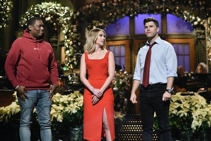 During her December 2019 SNL monologue, Johansson worked in a tribute to Jost during the 'Avengers'-...