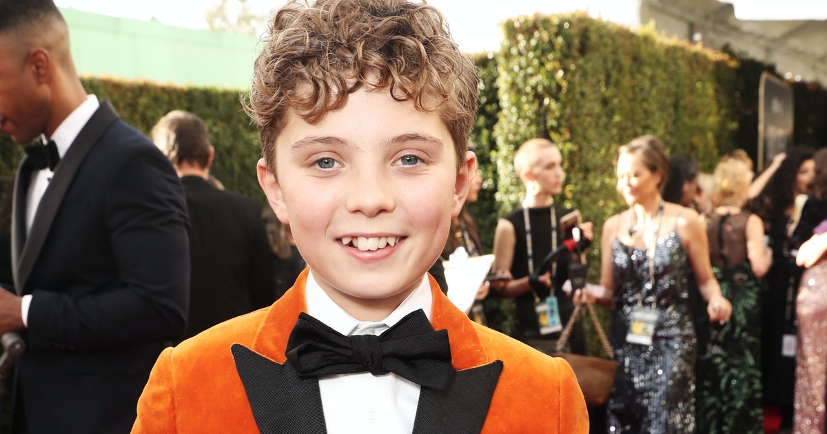 Roman Griffin Davis At The 2020 Golden Globes Was Hilariously Charming