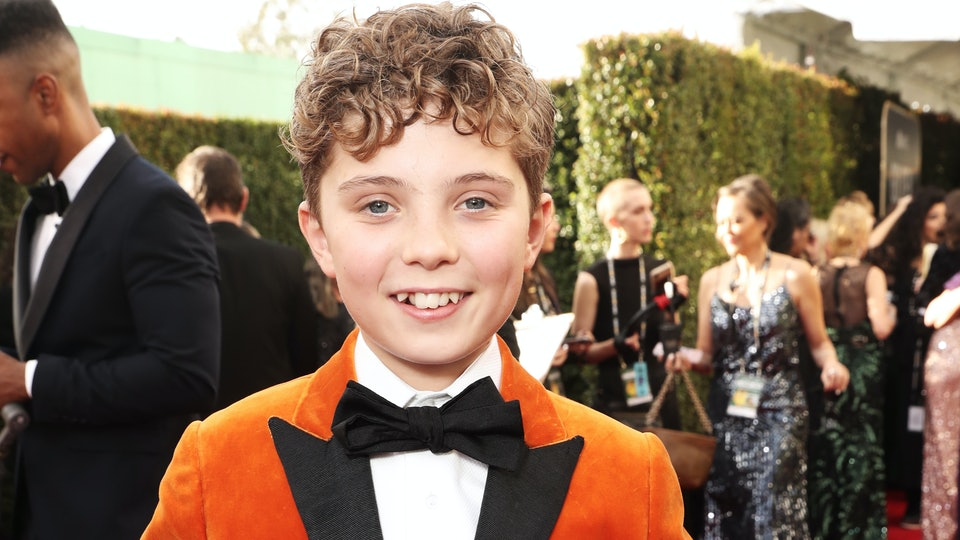 Roman Griffin Davis was so charming at the 2020 Golden Globes.
