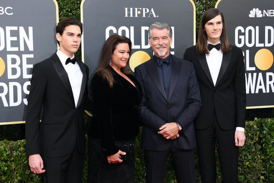 Pierce Brosnan's sons are the new Golden Globes ambassadors.