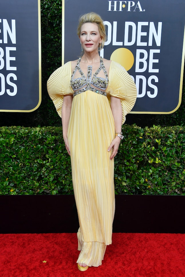 Harnesses were a trend on the 2020 Golden Globes red carpet.