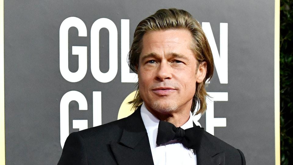 Brad Pitt at the Golden Globes