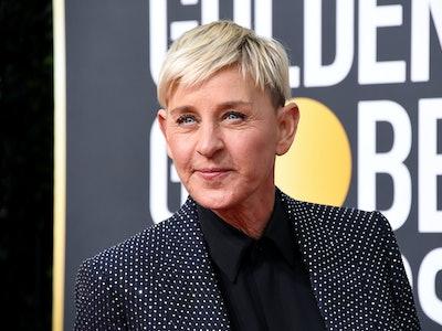Ellen DeGeneres at the Golden Globes