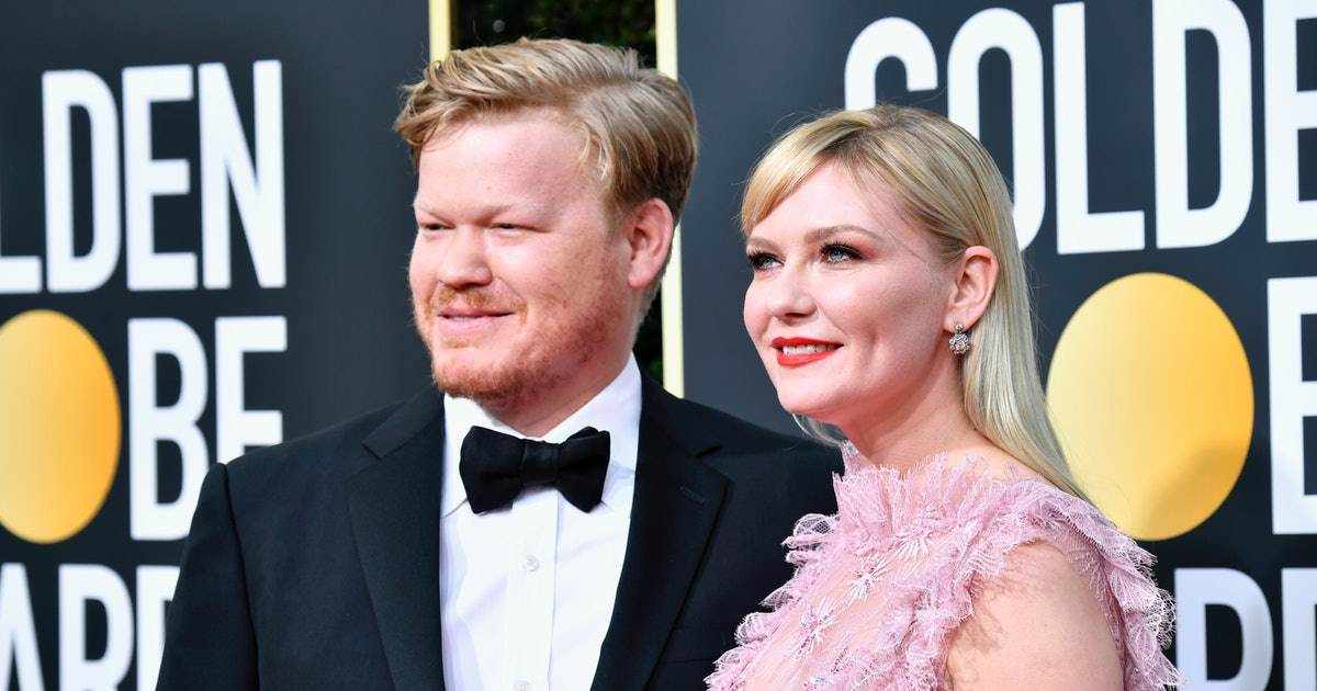 """Kirsten Dunst's 2020 Golden Globes Vibe Is """"Parents' Night Out"""" & I Get It"""