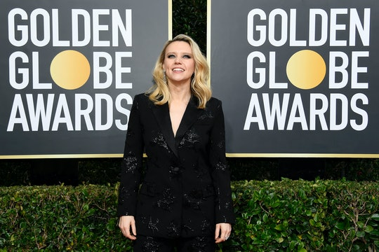 Kate McKinnon presented Ellen Degeneres with the Carol Burnett Award at the 2020 Golden Globe Awards.