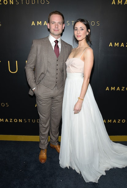 Troian Bellisario wore her wedding dress's skirt to a Golden Globes after party.