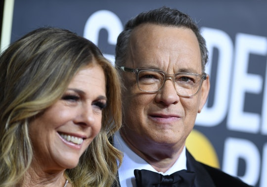 Tom Hanks and Rita Wilson on the Golden Globes red carpet