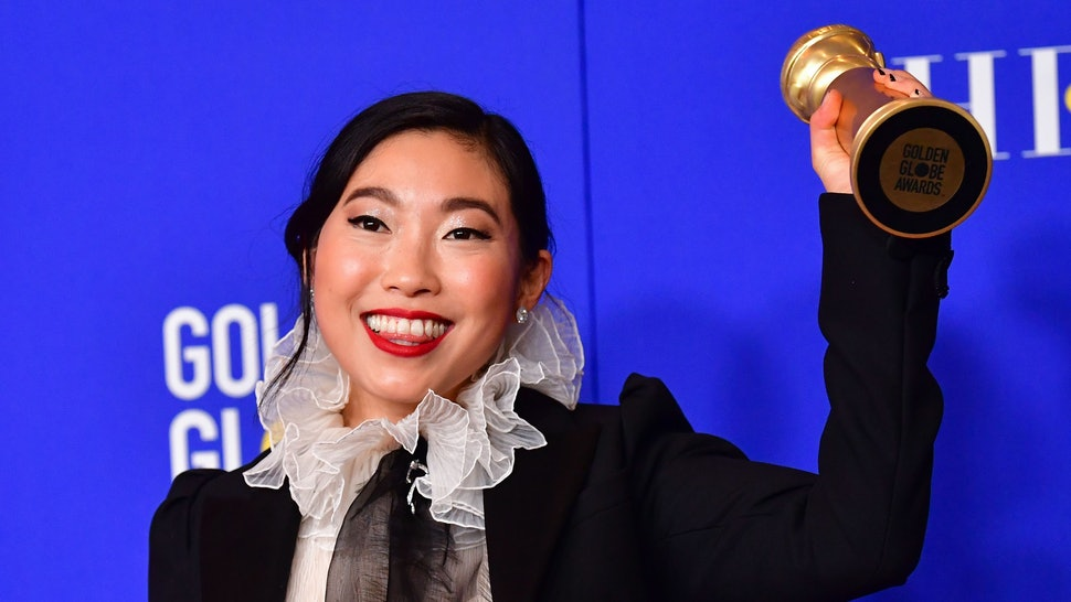 Image result for Awkwafina – The Farewell golden globes