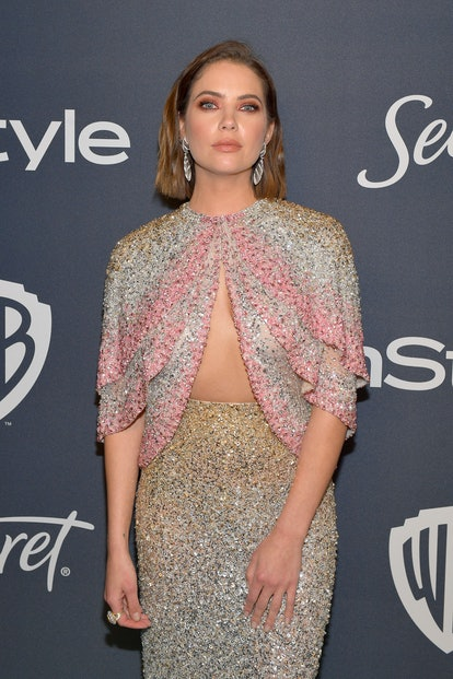 Ashley Benson's cape dress at the 2020 Golden Globes may have started a new trend.