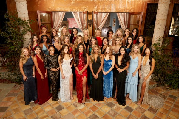 Eight contestants when home during Peter's 'Bachelor' Week 1