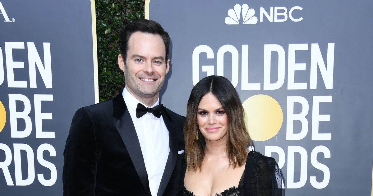 Rachel Bilson & Bill Hader Just Made Their Red Carpet Debut At The Golden Globes