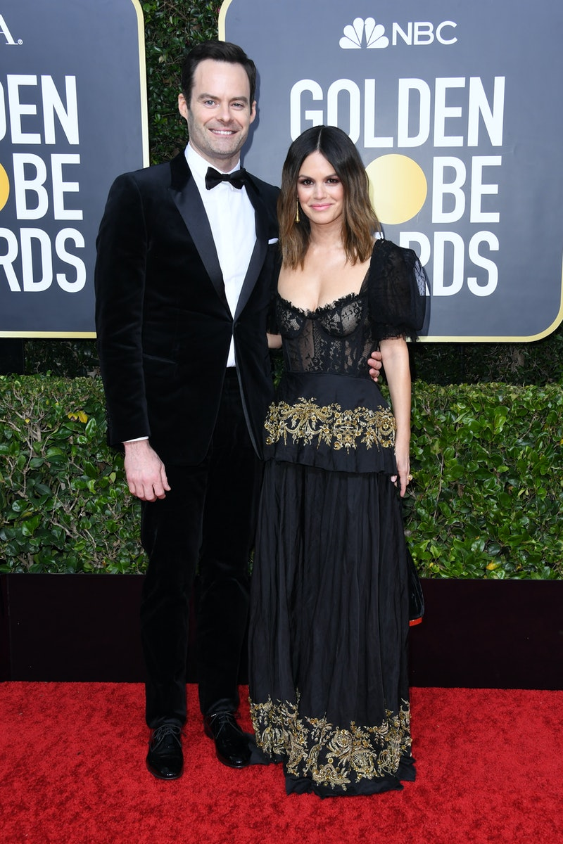 Bill Hader and Rachel Bilson are dating, and made their relationship official at the 2020 Golden Globes.