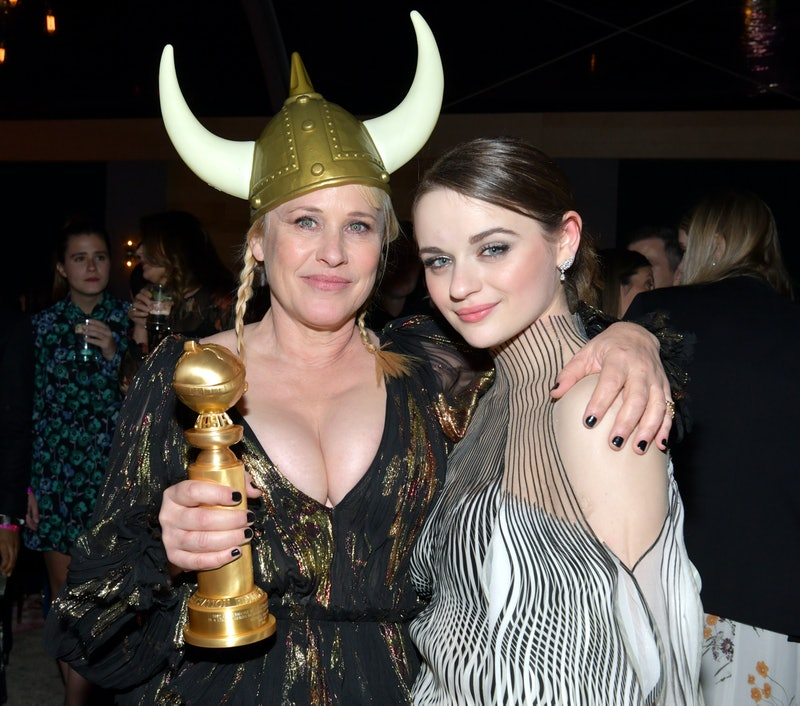 dentally Hit Joey King With Her Golden Globe