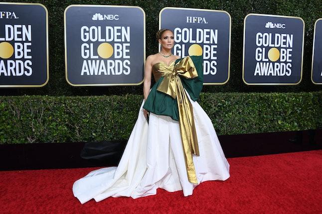 Jennifer Lopez's Golden Globes dress was major.
