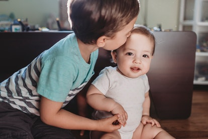 Kisses from germ-ridden kids may cause parents to want to quarantine their baby.