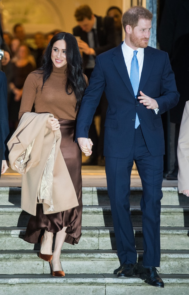Meghan Markle's monochromatic looks aren't new choices.