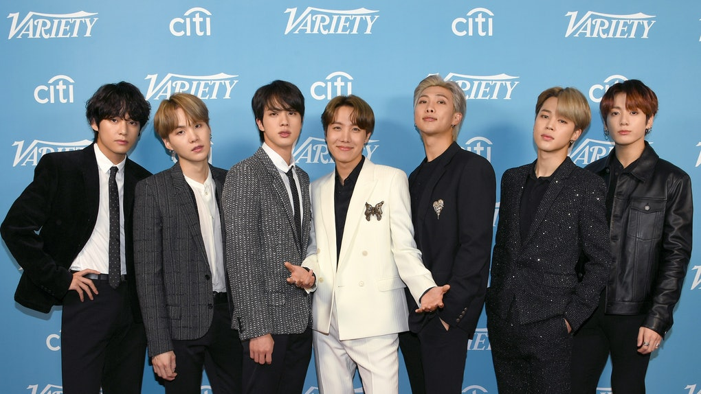 BTS hit the carpet at an event for Variety.