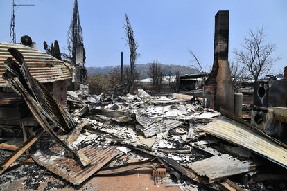 The Australian wildfires have destroyed almost 2,000 homes.