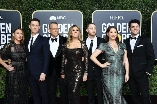 Tom Hanks thanked his entire family during his Golden Globes speech, including his daughter-in-law.