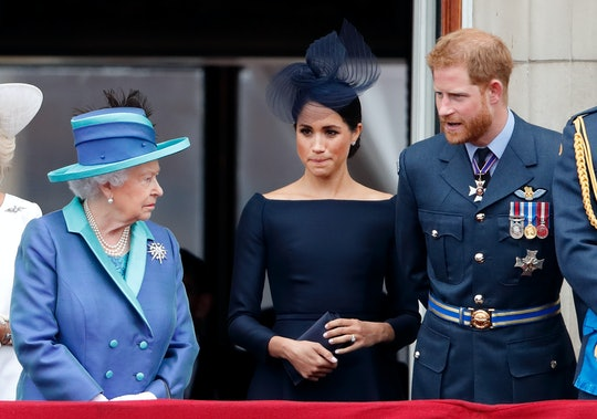Queen Elizabeth released a terse statement about Prince Harry & Meghan Markle's decision to leave royal duties.