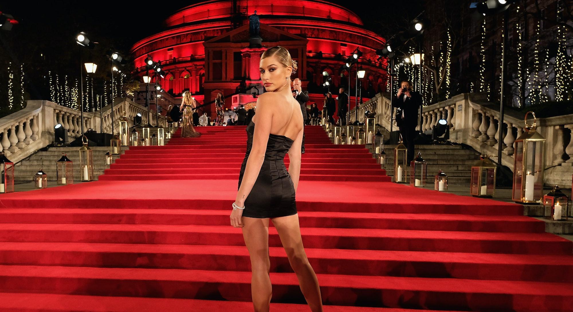 Hailey Bieber Red Carpet