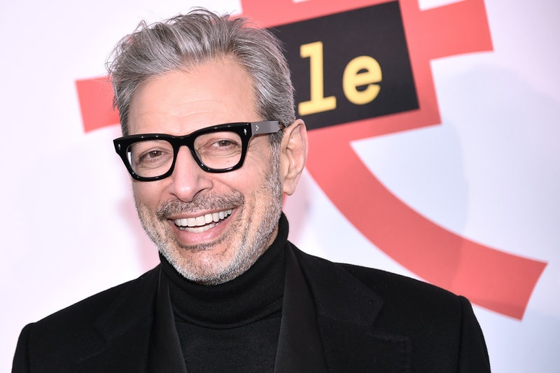 Jeff Goldblum recreated his shirtless scene from 'Jurassic Park' on Instagram to encourage people to vote.