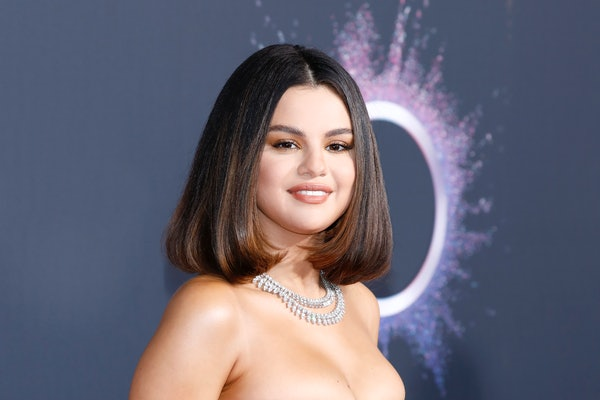 Selena Gomez attends the American Music Awards.