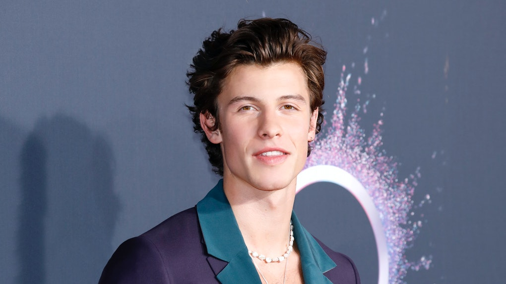 Shawn Mendes attends the American Music Awards.
