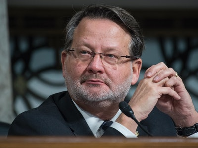 Sen. Gary Peters shared the heartbreaking story of his wife's emergency abortion.