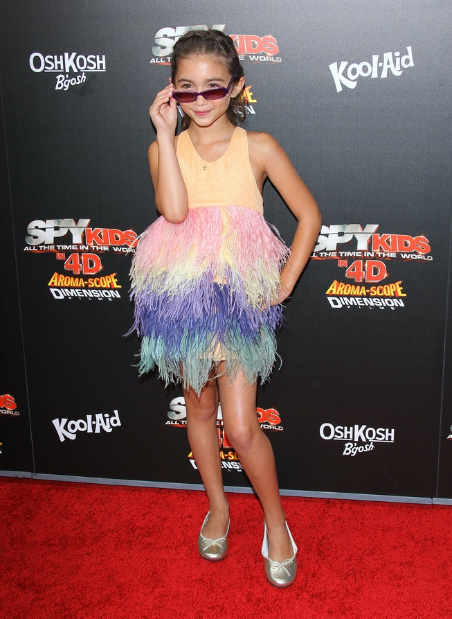 Rowan Blanchard at the 2011 Spy Kids: All The Time In The World In 4D premiere.