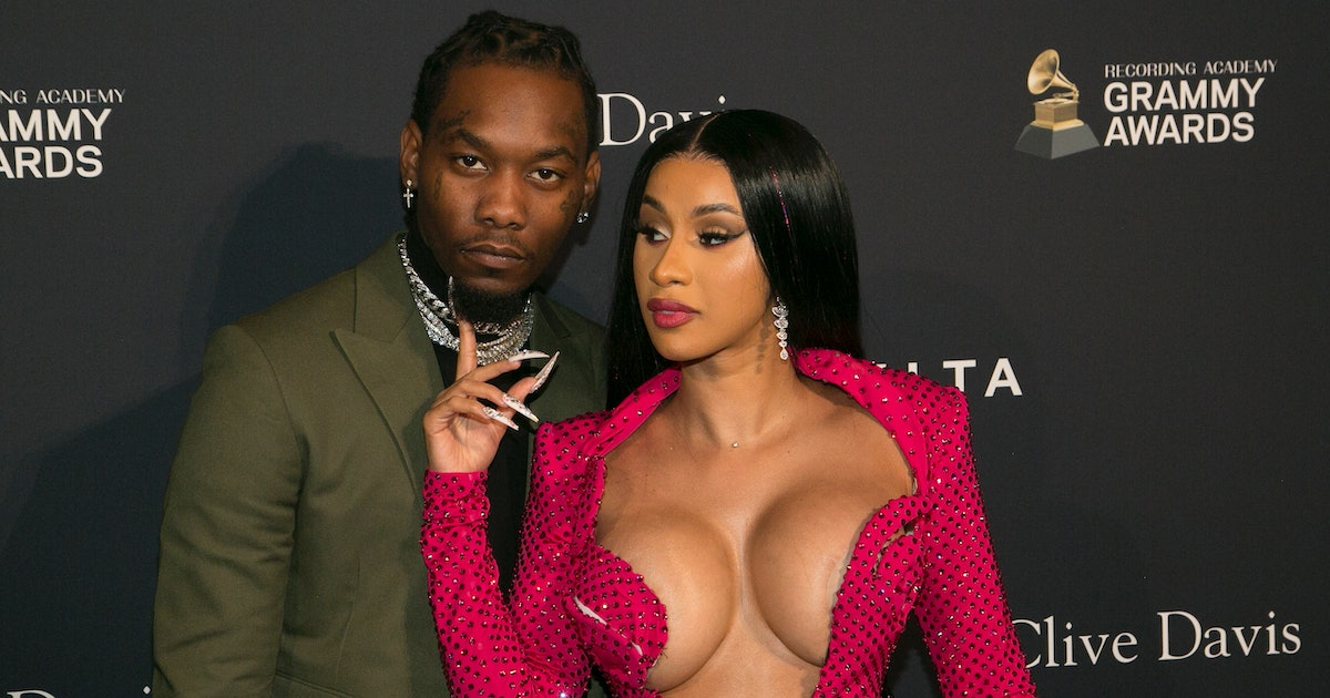 Cardi B admits she was in BED with her husband again