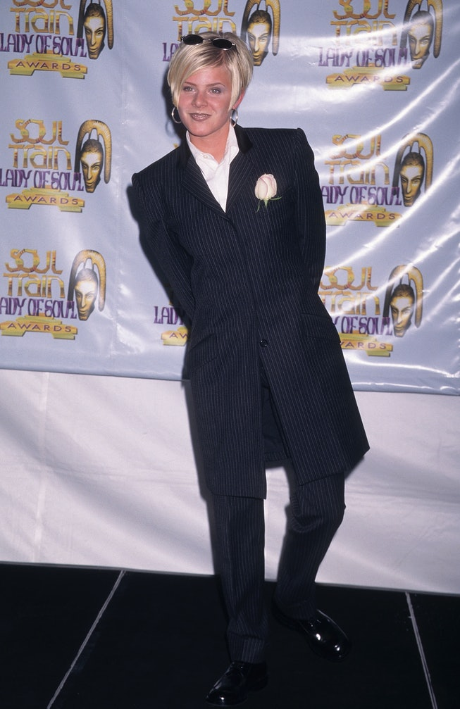 Robyn at the 1997 Soul Train Lady Of Soul Awards.