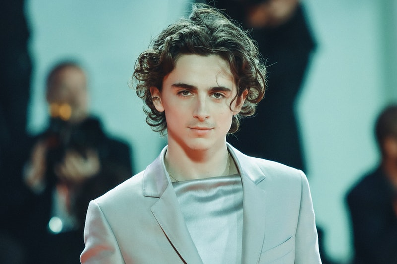"""Timothee Chalamet said he was """"embarrassed"""" when photos of him kissing Lily-Rose Depp on a yacht went viral."""