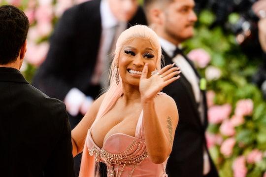 Nicki Minaj is officially a boy mom.