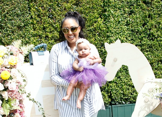 Tia Mowry-Hardict matched with her daughter Cairo in a cute new post to welcome fall on Instagram