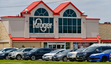 A photo of a Kroger store.