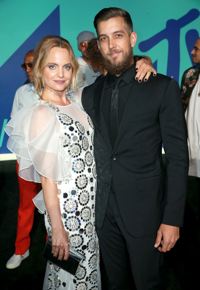 Mena Suvari and husband Michael Hope are expecting their first child