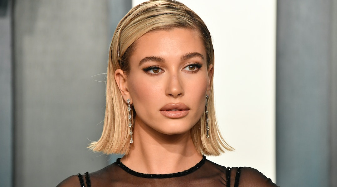 Hailey Bieber swears by bareMinerals' Complexion Rescue Hydrating Foundation Stick, which is included in the brand's Friends & Family sale