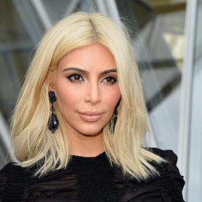 Kim Kardashian's platinum blonde bob is one her most memorable hair moments