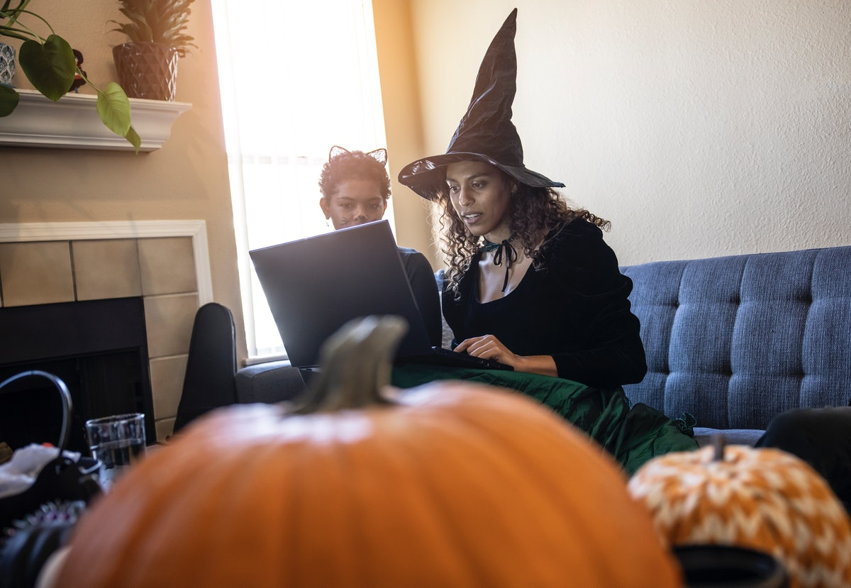 These Halloween Zoom scavenger hunt ideas will make game night so spooky.