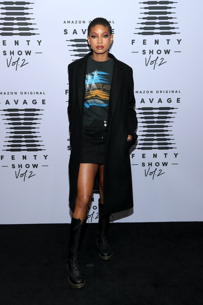 Willow Smith Savage X Fenty Red Carpet
